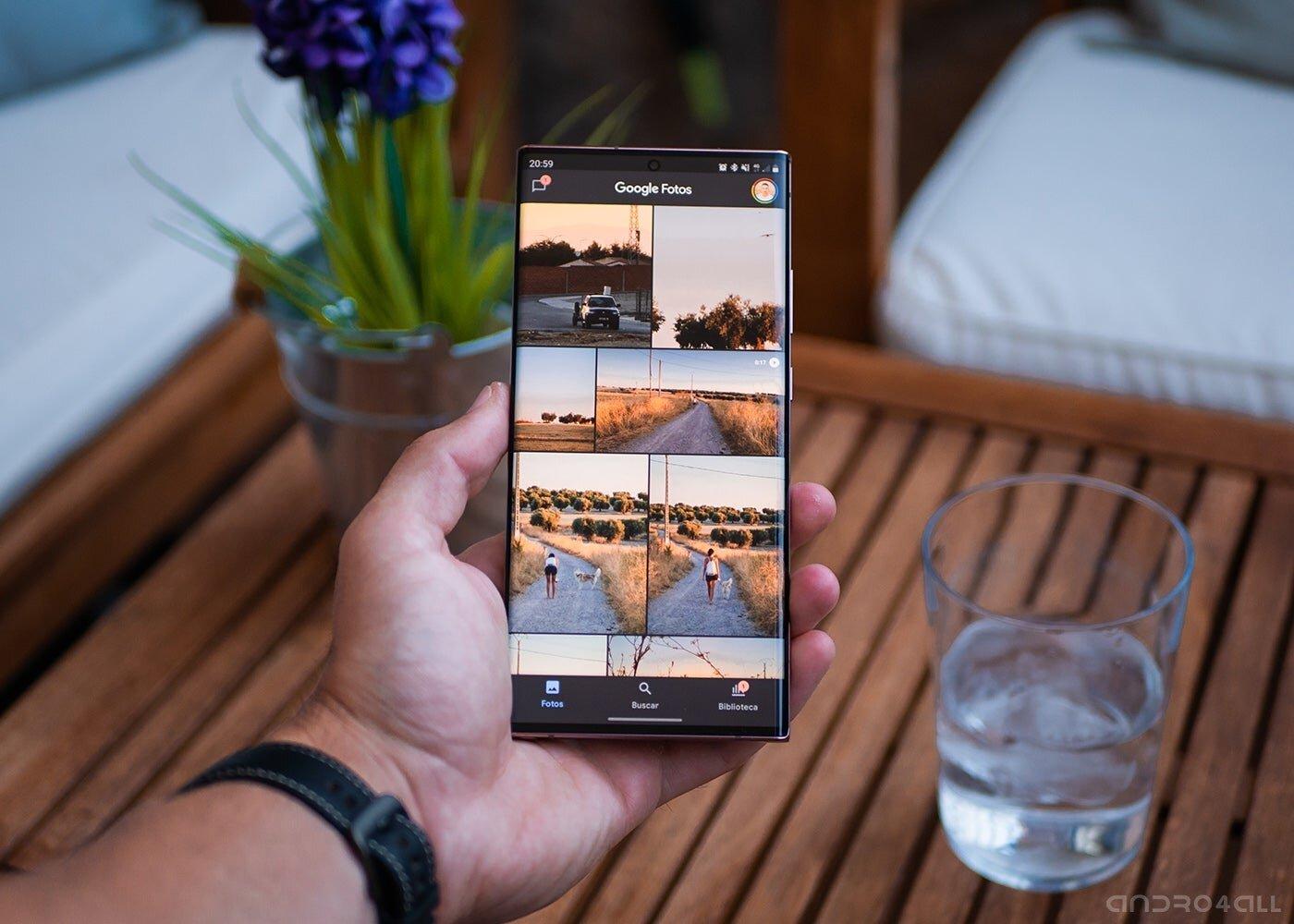 Google Photos, Galaxy Note20 Ultra