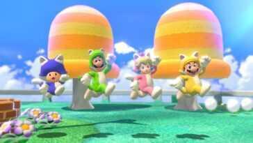 """La plate-forme de Super Mario 3D World sera """"Plus vif"""" Sur interrupteur, support gyroscopique inclus"""