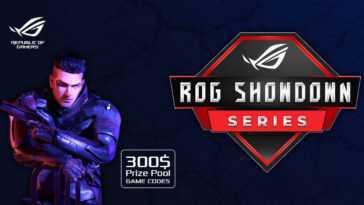 La Série Asus Rog Showdown 2021 Débutera Le 29 Janvier;