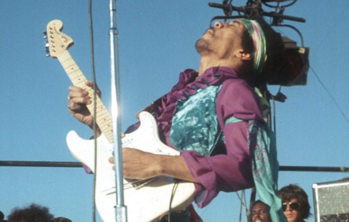 Jimi Hendrix en 1969
