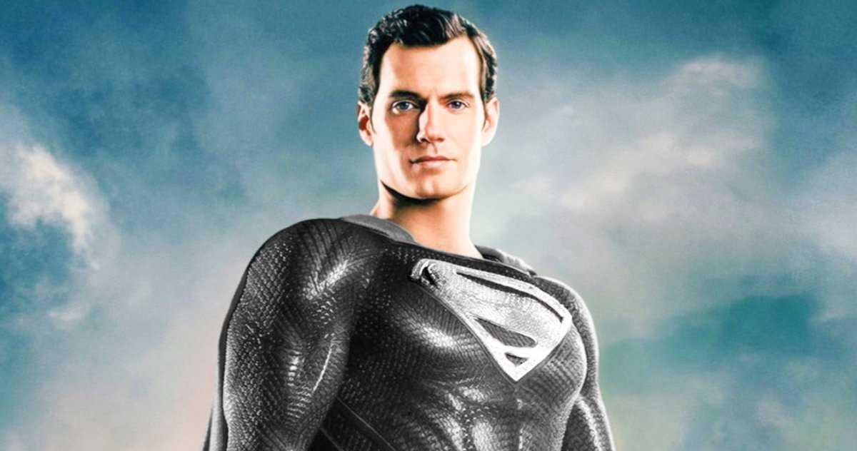 La Vraie Histoire Derrière Le Costume Noir De Superman Dans