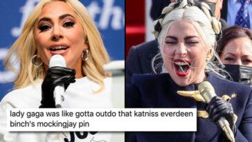 Lady Gaga Chanter à L'inauguration Est Déjà Un Mème De