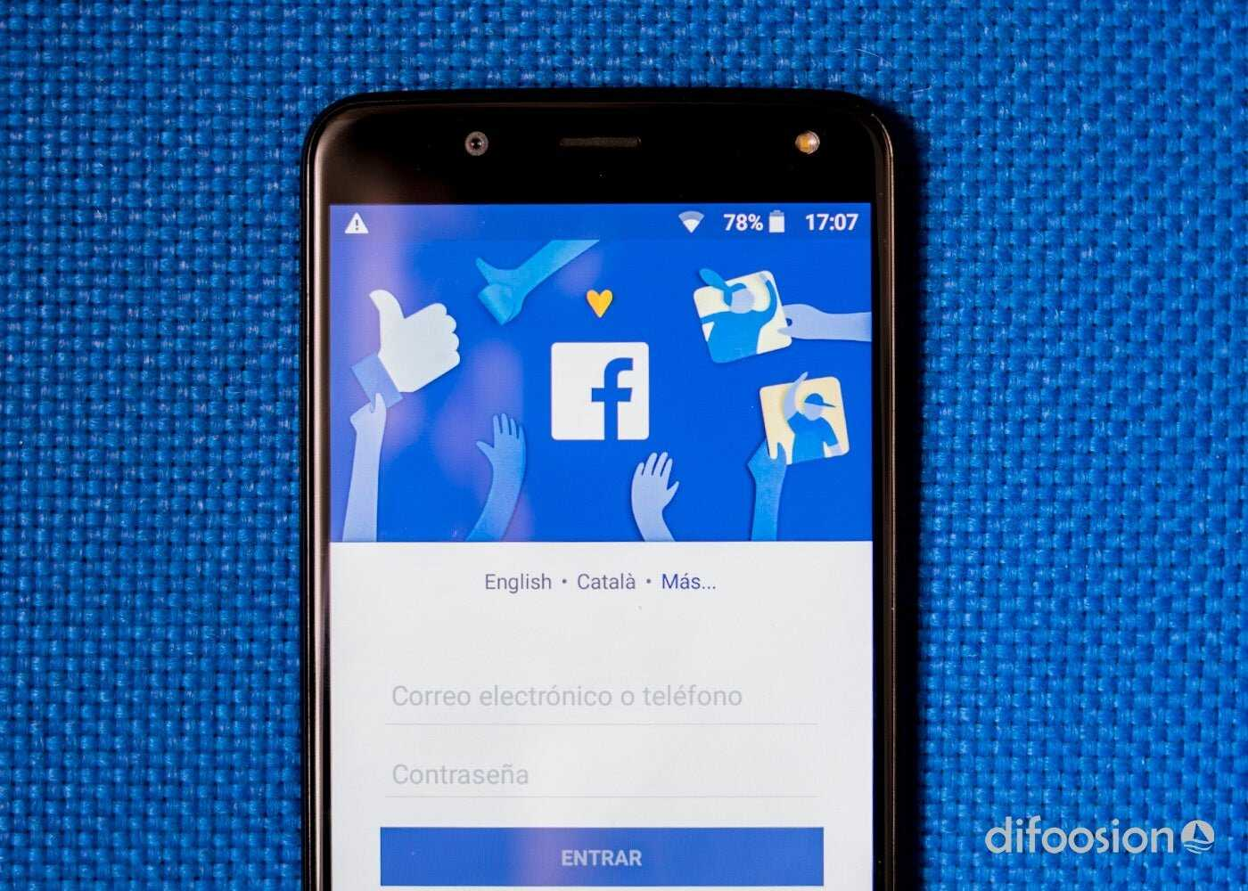 Facebook sur Android