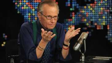 Larry King, Journaliste Et Présentateur De Télévision Américain, Décède à