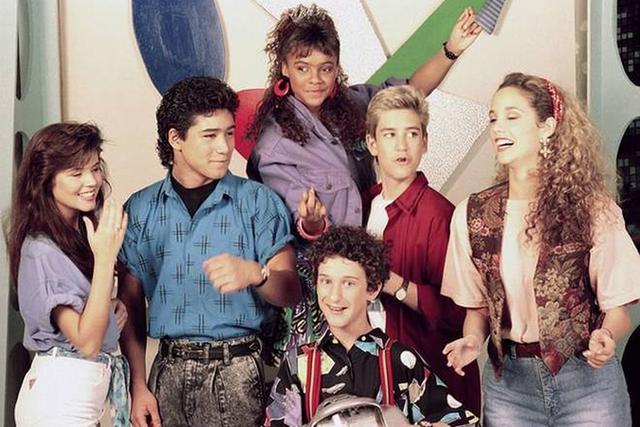"""Les personnages principaux de la série des années 90 """"Sauvés par la cloche"""".  (Photo: NBC)"""