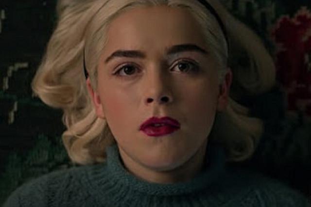 À la fin de la quatrième saison, Sabrina a donné sa vie pour sauver ses proches (Photo: Netflix)
