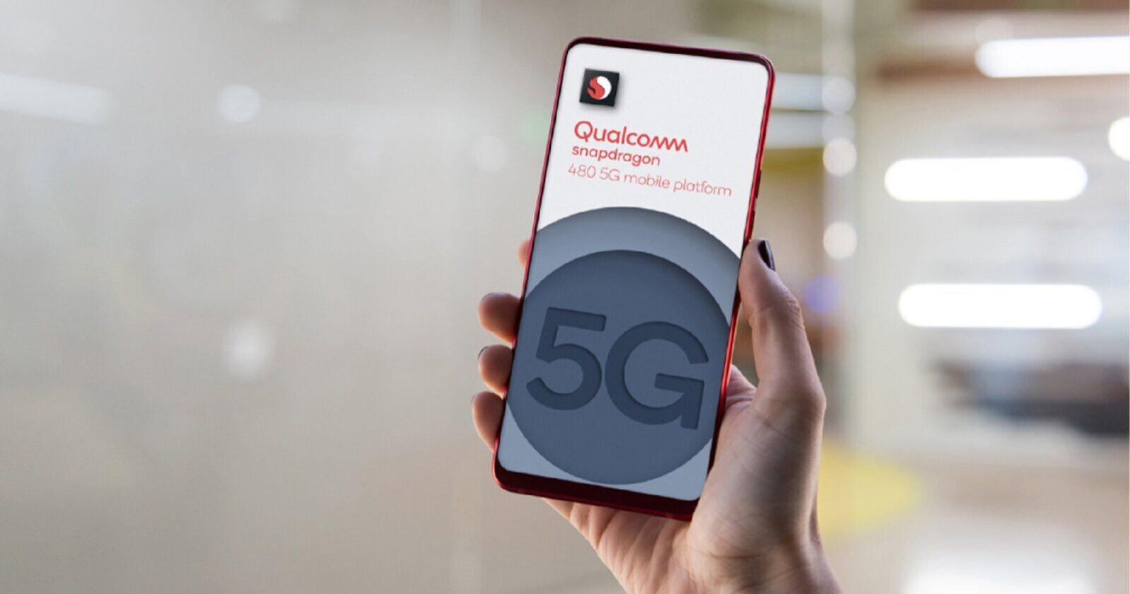 Qualcomm SNapdragon 480 avec 5G