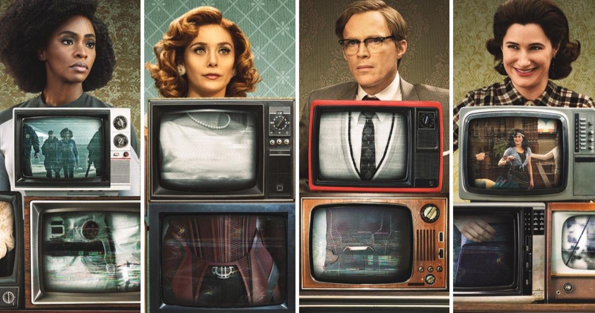 Le Spot Télévisé Wandavision Sur Le Thème Des Avengers Arrive