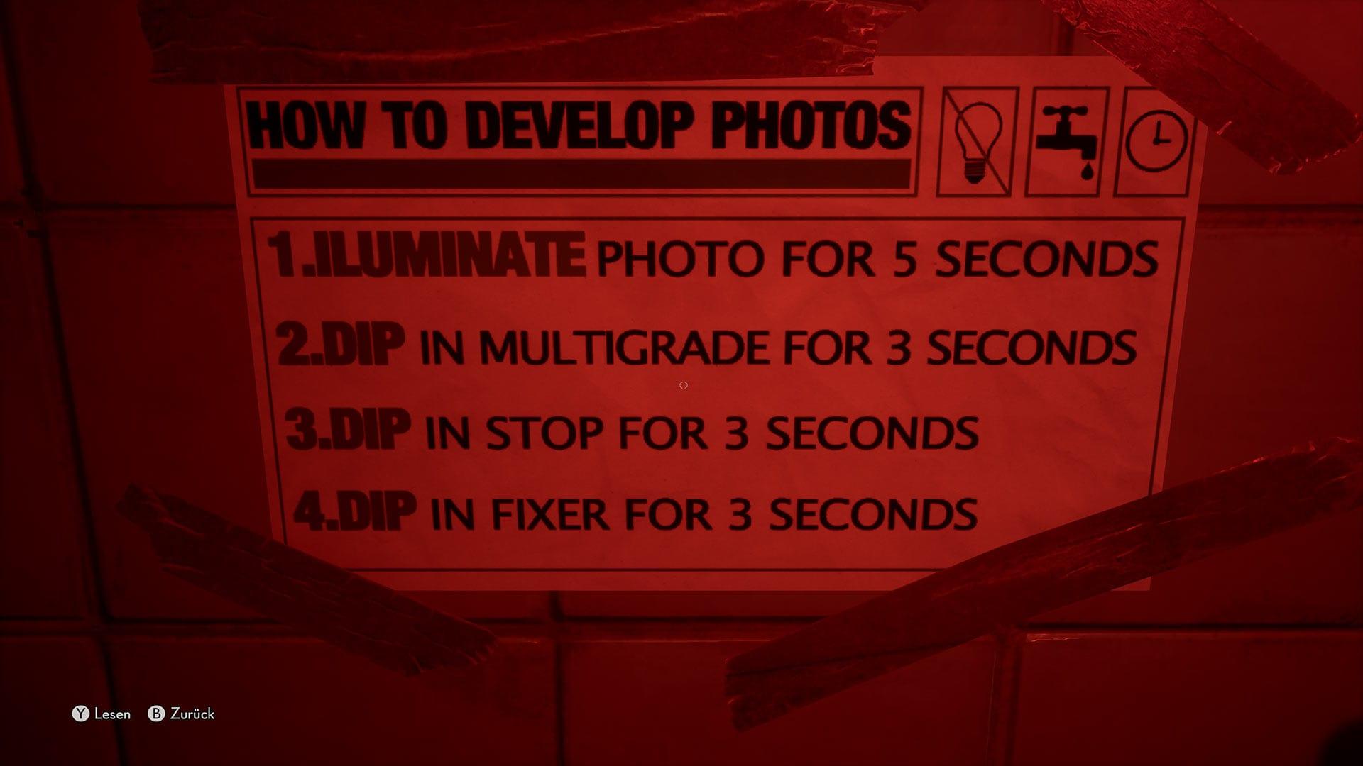 Le médium - Comment développer des photos