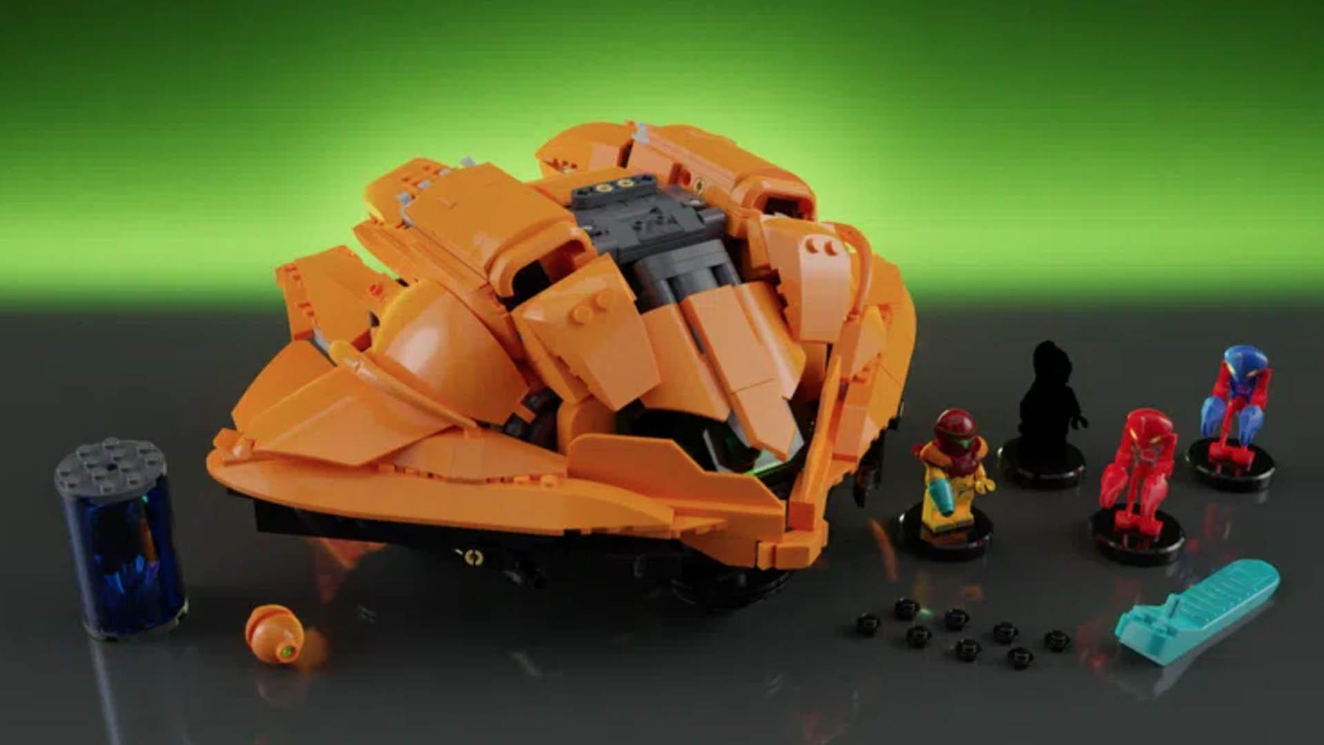 LEGO Metroid - ensemble de construction