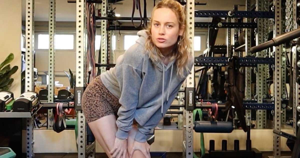 L'entraînement De Captain Marvel 2 Commence Avec Brie Larson Montrant