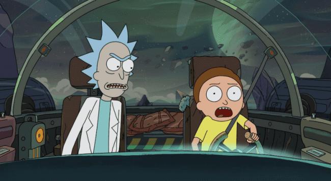 Les 4 Premières Saisons De Rick Et Morty Se Réunissent