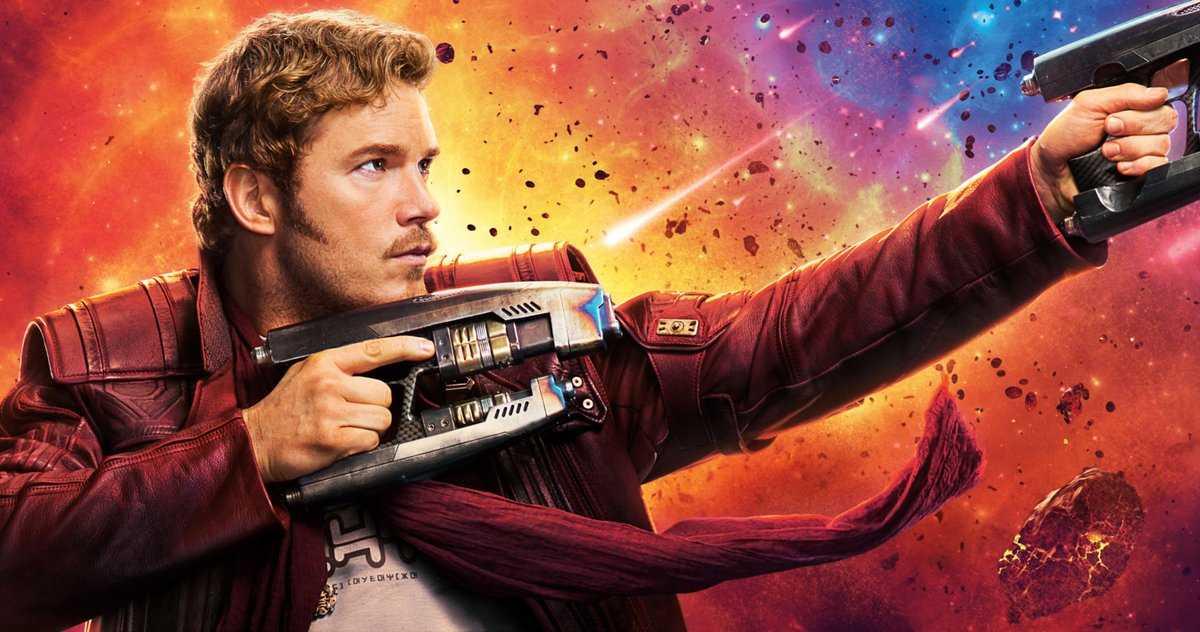 Les Gardiens De La Galaxie Ont Eu Chris Pratt Dans