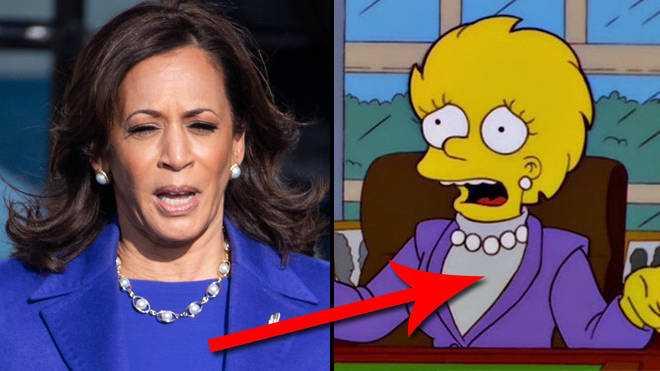 Prédictions des Simpsons: la scène du président Tom Hanks et Lisa devient réalité