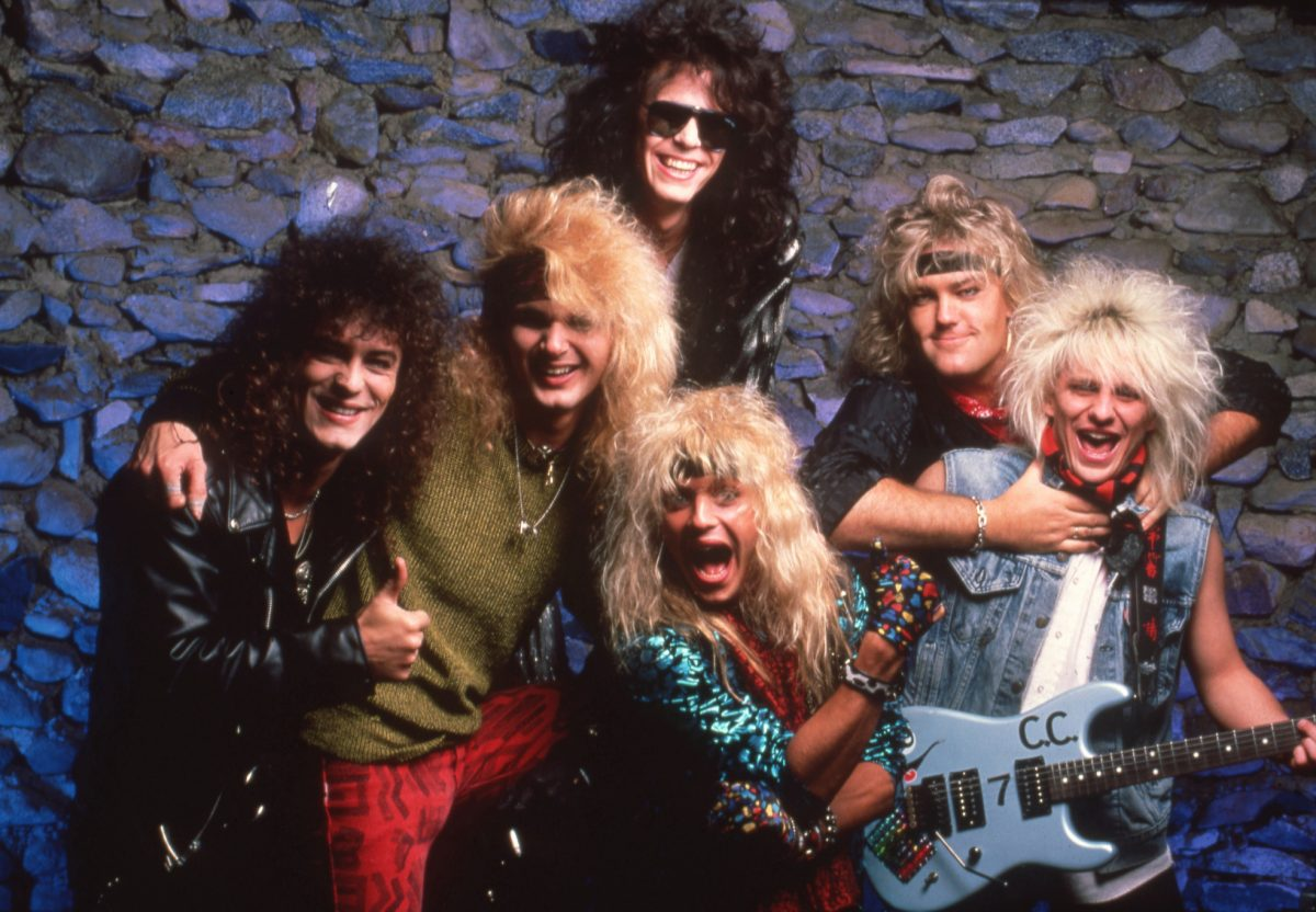 Groupe de glam rock américain Poison