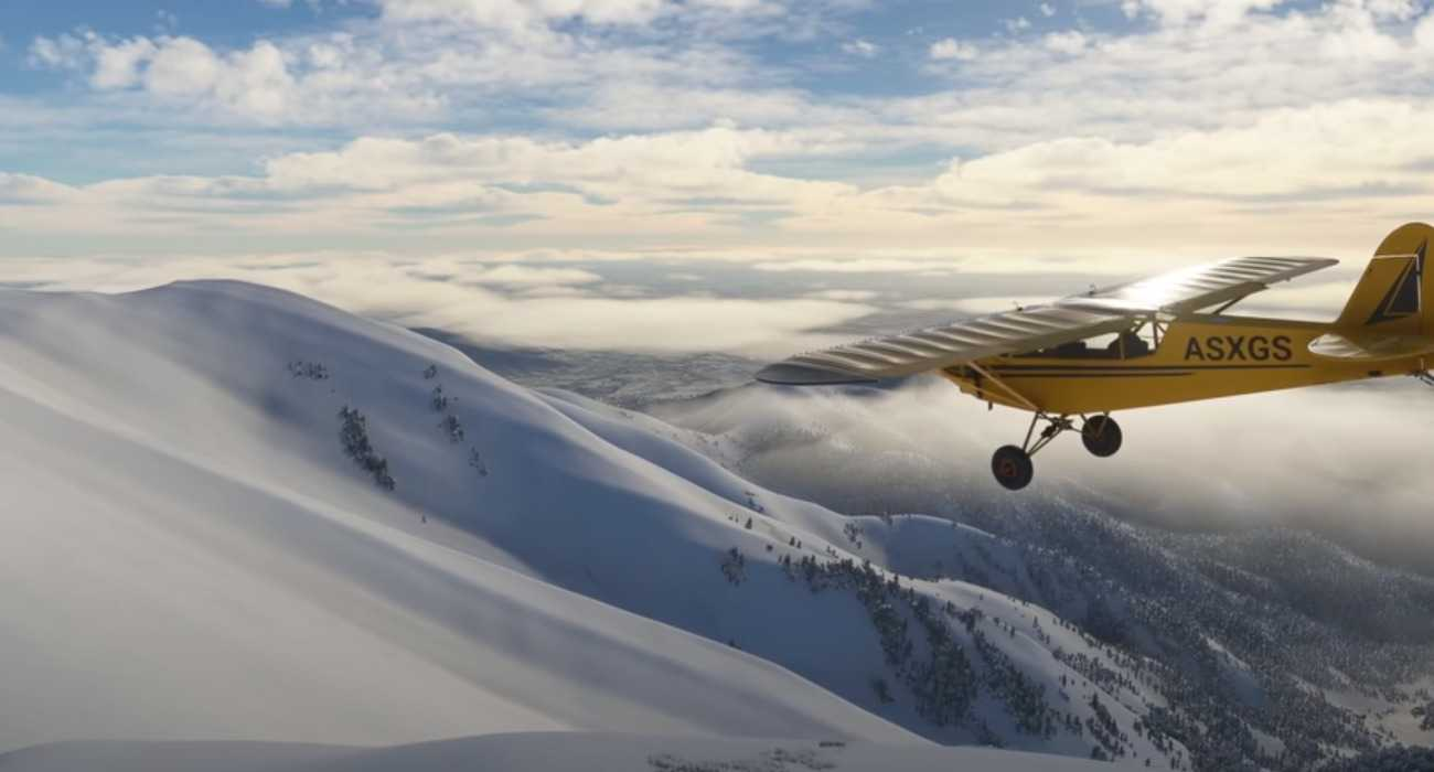 Microsoft Flight Simulator's Snow Effects Further Enhance The Weather Realism