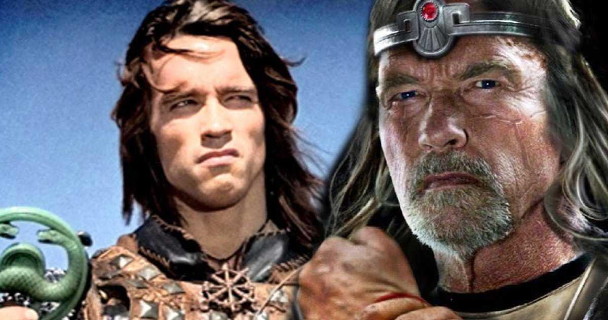 Les Fans D'arnold Schwarzenegger Veulent Le Roi Conan Plus Que