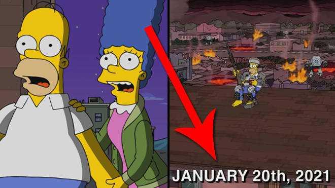 Prédictions Simpsons 2021: les fans peuvent