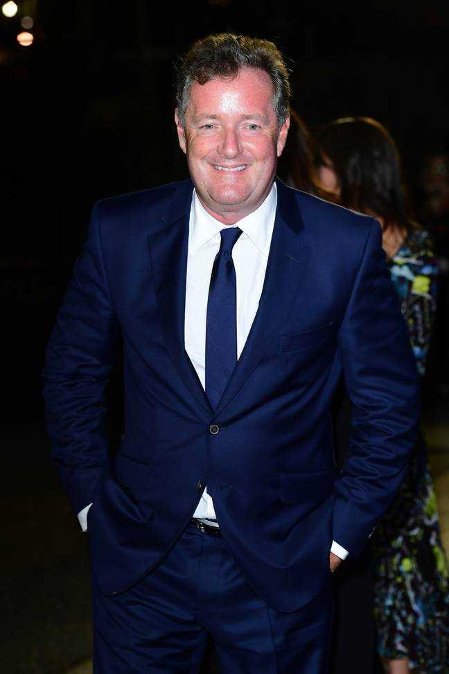 Piers Morgan a qualifié le snap de «effrayant».  Crédit: ITV