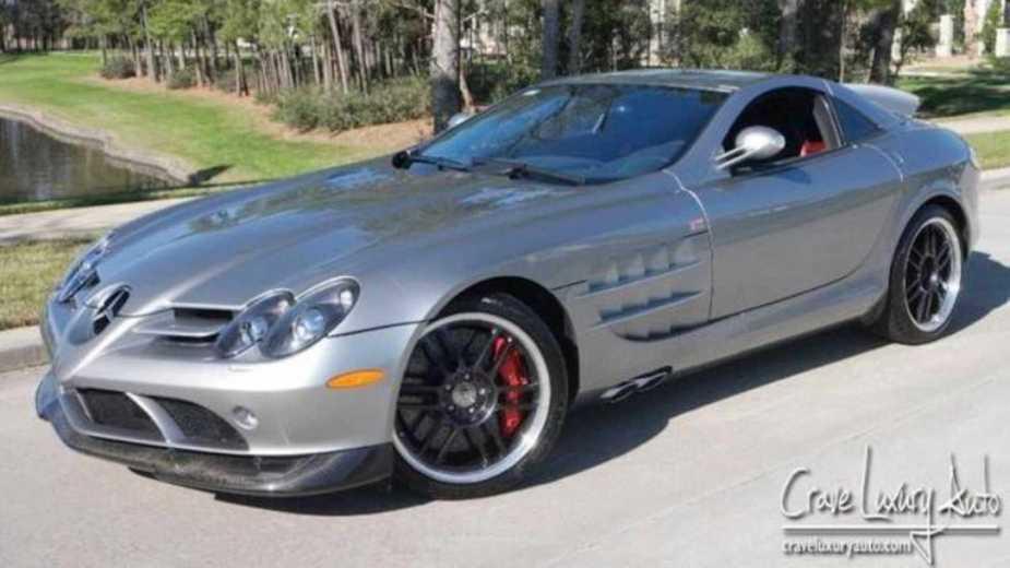Mercedes Benz Slr Mclaren 722 Edition Ex Michael Jordan Est En Vente