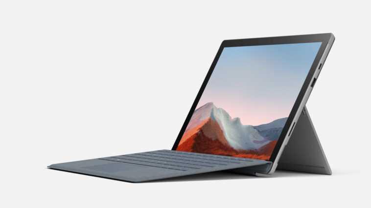 Microsoft Lance La Tablette Surface Pro 7+ Avec Les Options