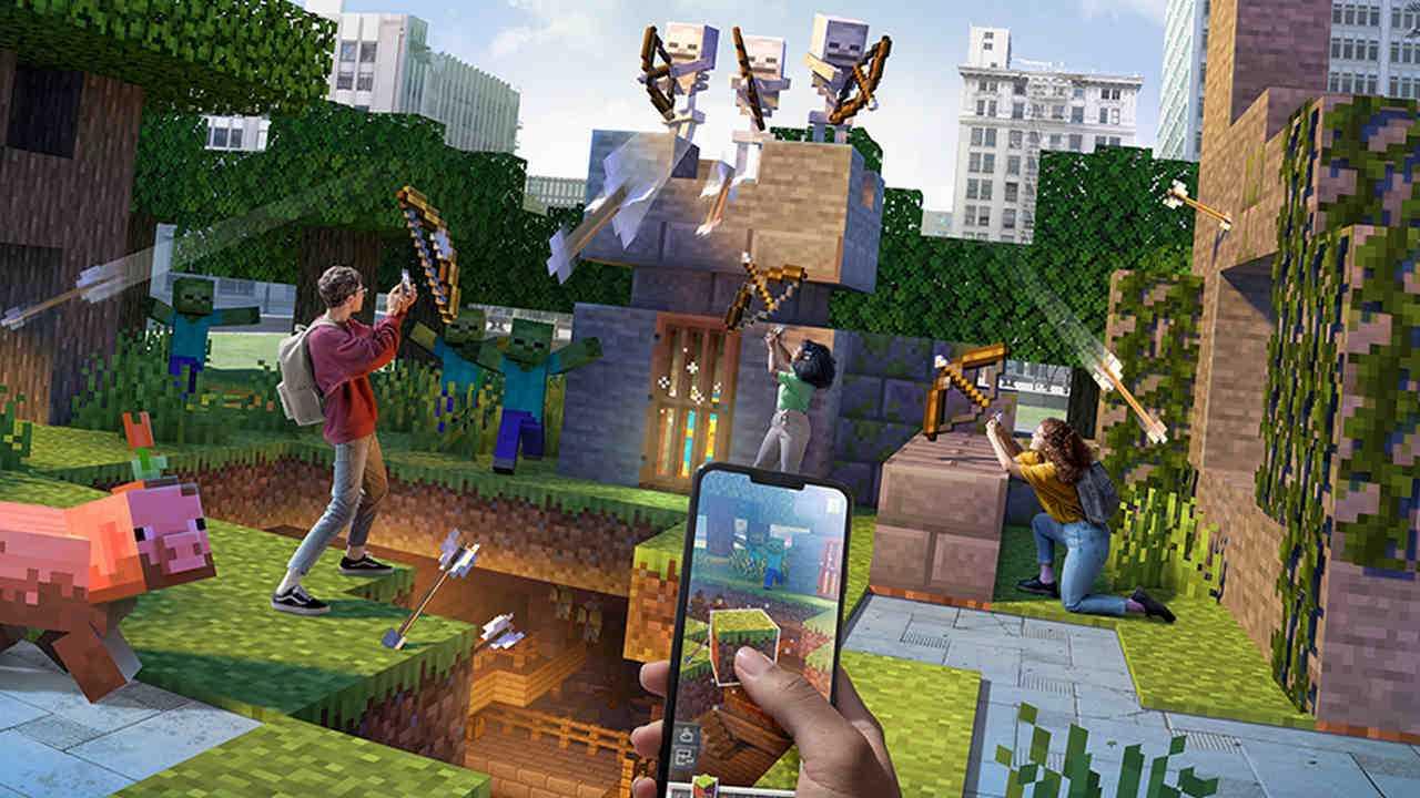 Minecraft Earth Fermera En Juin 2021 Alors Que La Situation