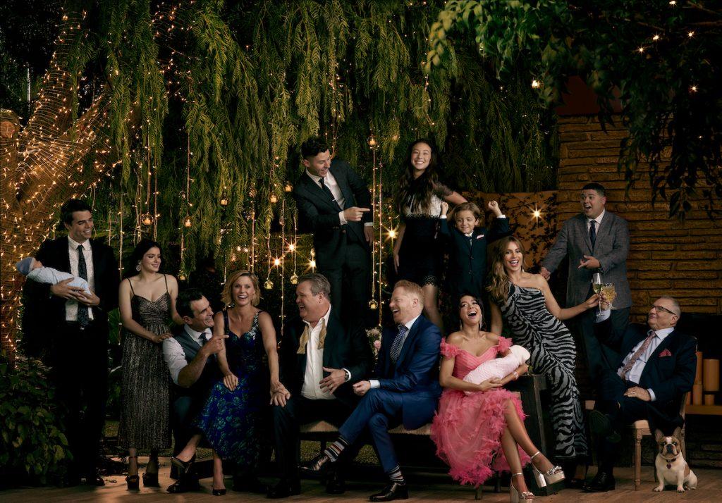 Le casting de la série comique primée d'ABC, `` Modern Family ''