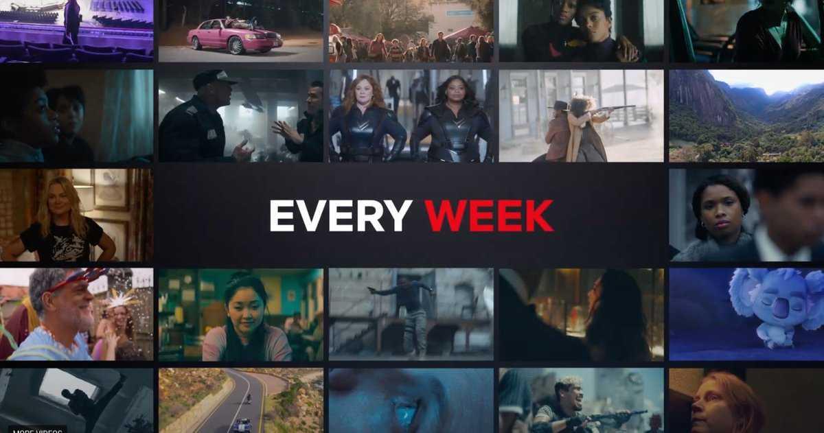 Netflix Sort Au Moins Un Nouveau Film Chaque Semaine Tout