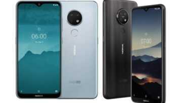 Nokia 7.2, Nokia 6.2 Recevant La Mise à Jour De