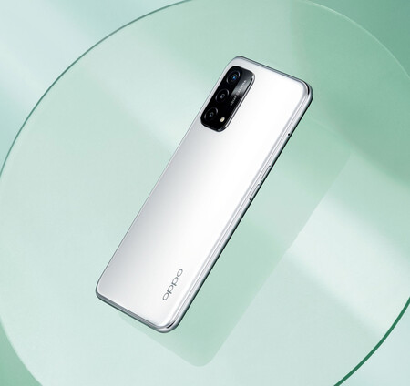 Oppo A93 5g Argent
