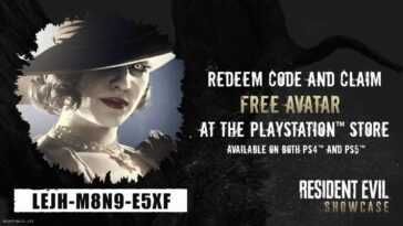 Obtenez un avatar Resident Evil Village gratuit pour votre PS5, PS4