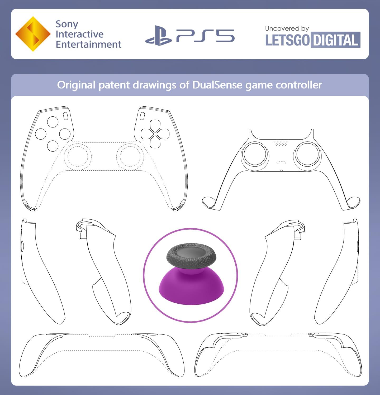 Conception alternative PS5 DualSense