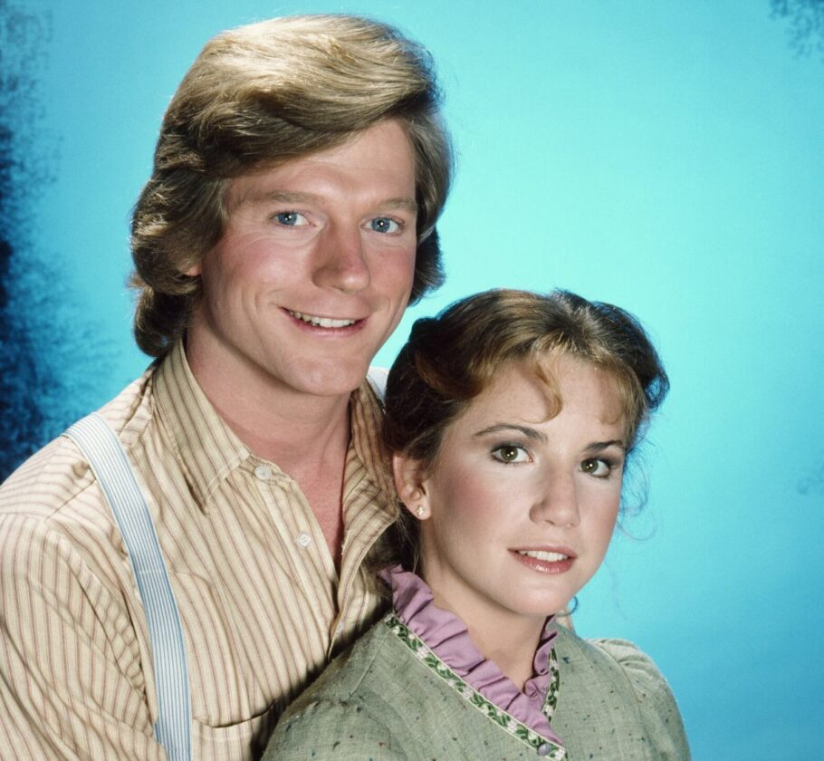 Dean Butler as Almanzo James Wilder, Melissa Gilbert as Laura Elizabeth Ingalls Wilder