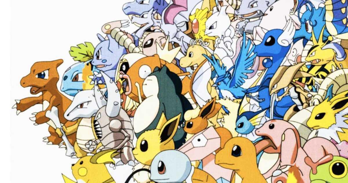Pokémon Kanto original