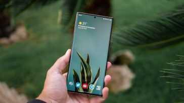 Écran Samsung Galaxy Note20 allumé