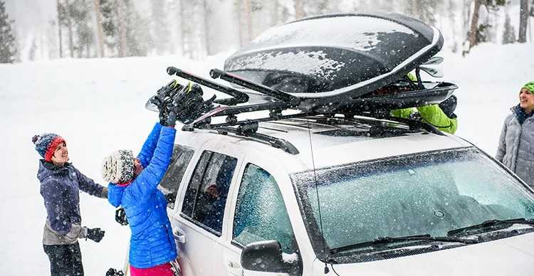 Préparez Votre Voiture Pour Votre Voyage Au Ski