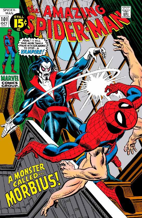 Découvrez qui est le méchant Michael Morbius, le vampire vivant de l'univers Marvel Comics, connu pour être un grand rival de Spider-Man