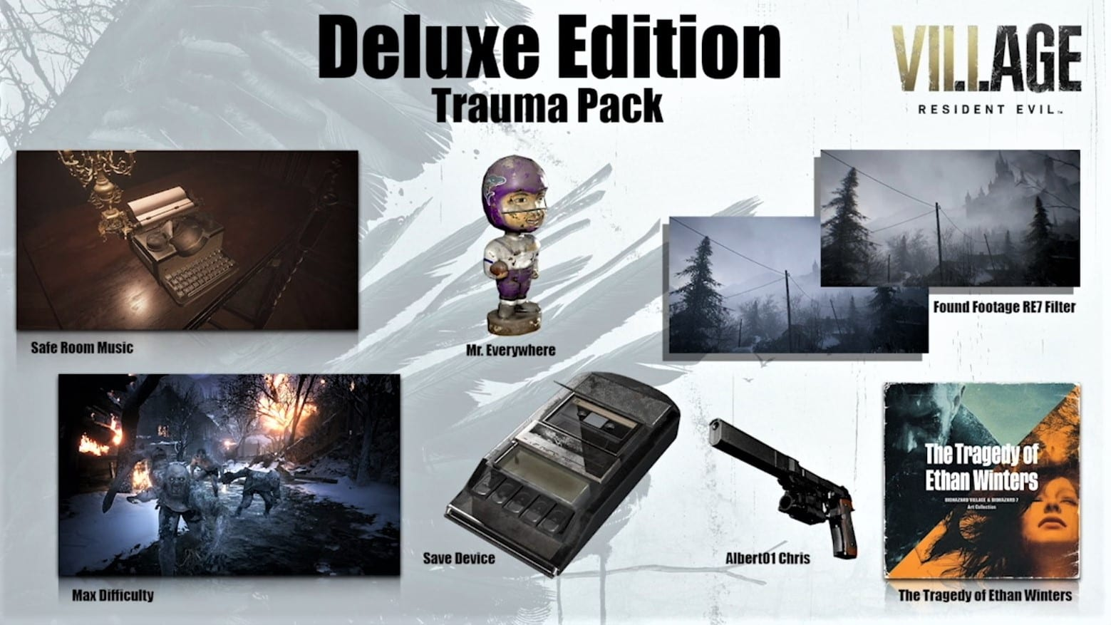 Pack Trauma Resident Evil 8 Village Édition Deluxe