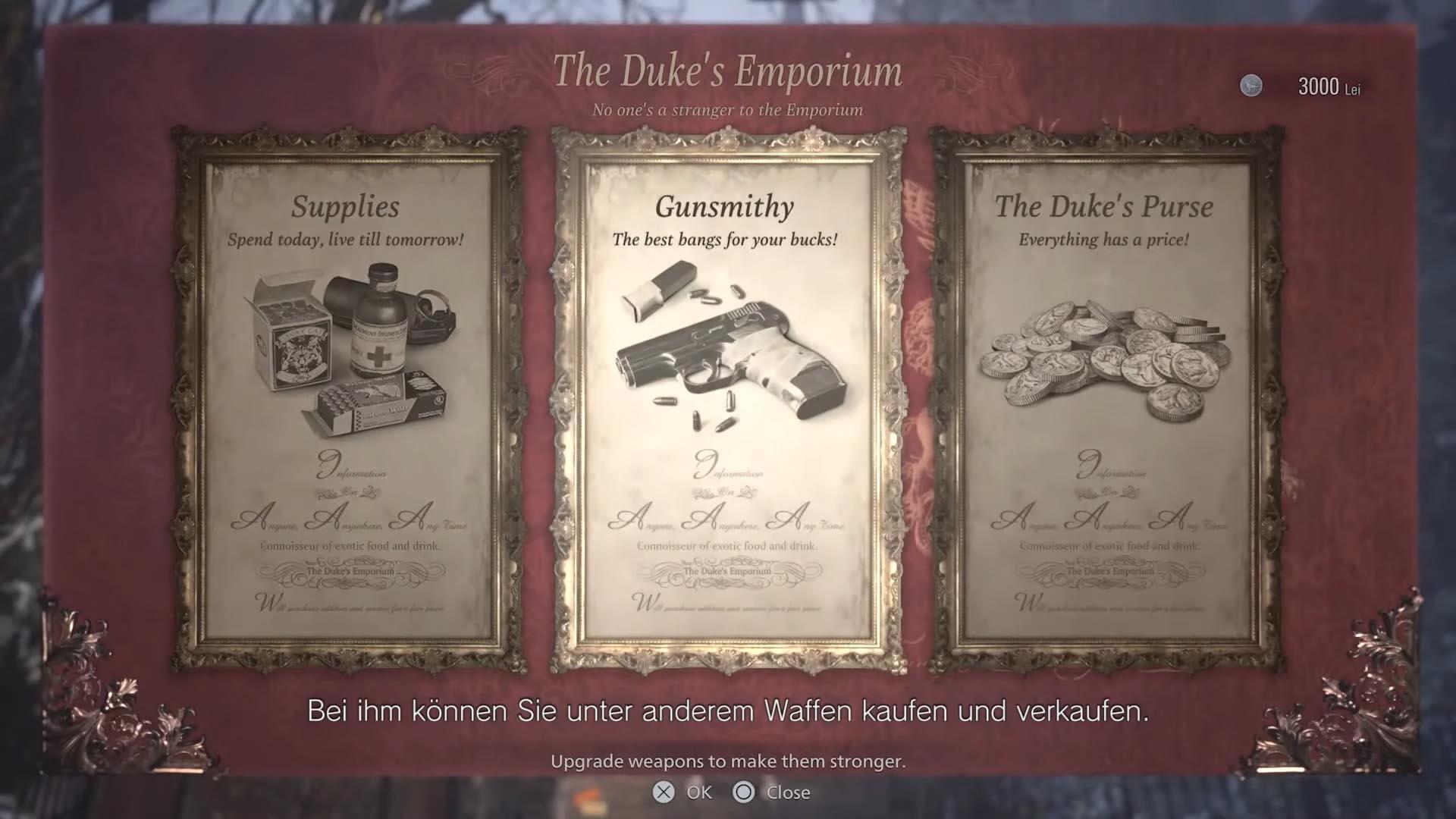Marchand - le duc dans Resident Evil 8