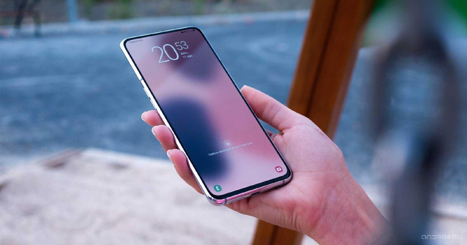 Samsung mobile sans caméra frontale