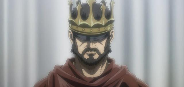 Le roi Fritz est celui qui a vraiment mis fin à la guerre eldienne (Photo: Studio Mappa)
