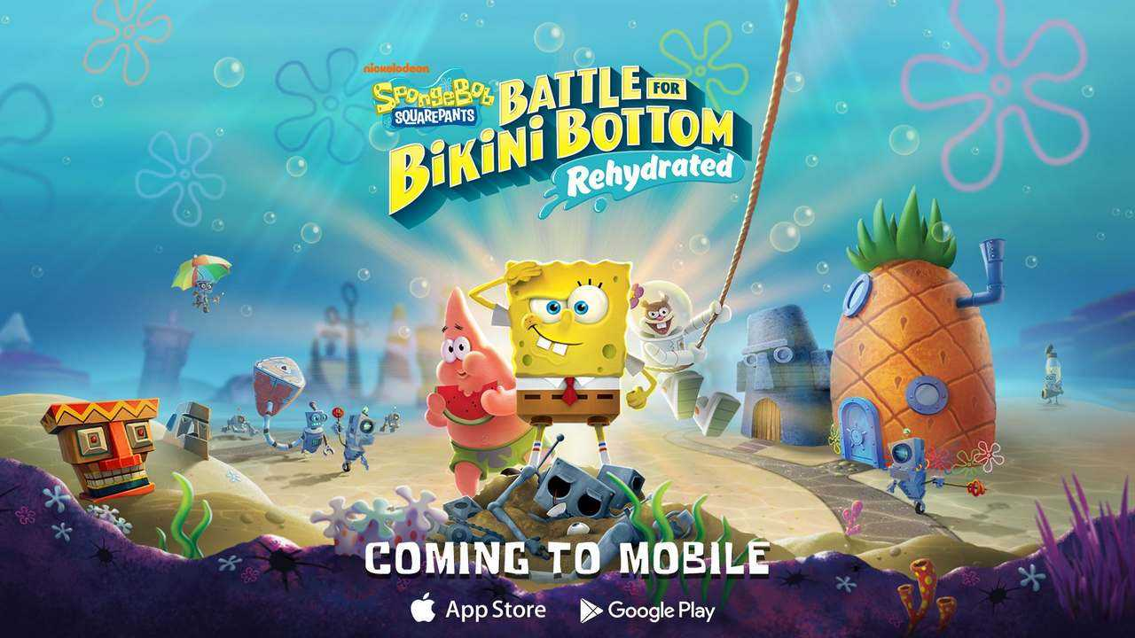 Spongebob Squarepants: Battle For Bikini Bottom Rehydrated Sera Bientôt