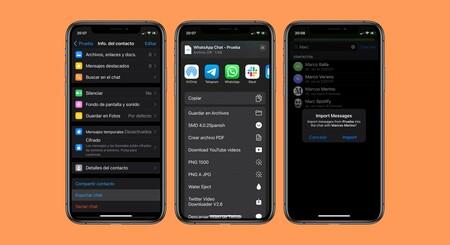 Telegram permet le transfert des conversations WhatsApp sur iOS