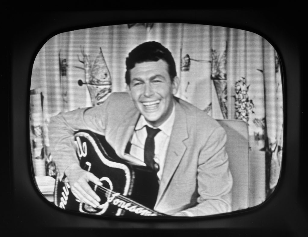 Andy Griffith en 1957 |  CBS via Getty Images