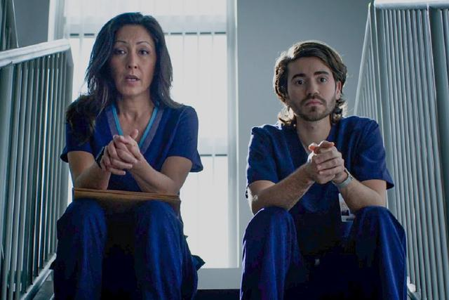 Lim et Asher ont parlé des patients qu'ils ont perdus (Photo: ABC)