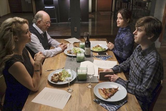Le dîner avec Glassman et Morgan ne s'est pas non plus déroulé comme prévu (Photo: ABC)