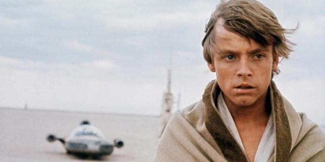 Un jeune Mark Hamill pendant les premiers films de Star Wars (Photo: Lucasfilm)