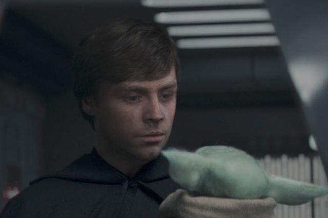 Luke doit emmener Grogu pour un entraînement en force (Photo: Disney Plus)