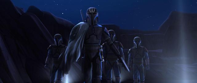"""Dans """"Star Wars: The Clone Wars"""", le Darksaber est vu pour la première fois (Photo: Disney Plus)"""
