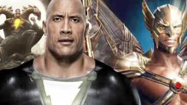 The Rock Enseigne La Co Star De Black Adam, Aldis Hodge,